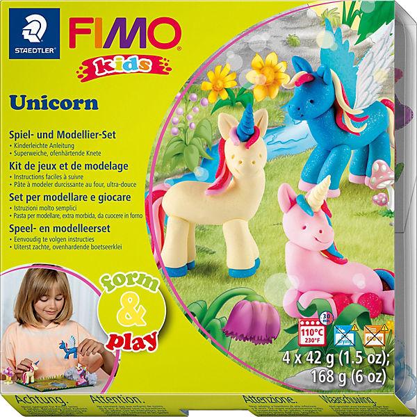 FIMO kids Form & Play Unicorn, Staedtler