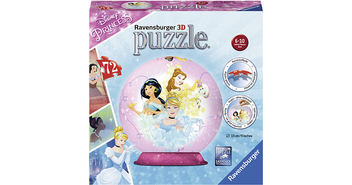 Disney Princess 72 Teile