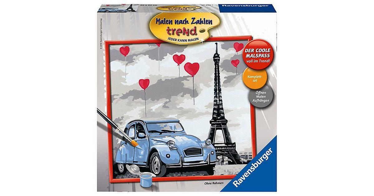Malen nach Zahlen Einsteigerset Paris