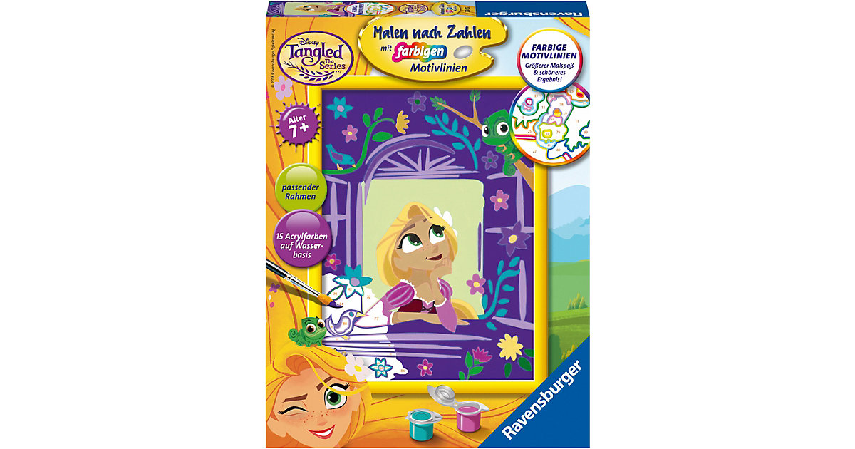 Malen nach Zahlen Disney Princess: Rapunzel