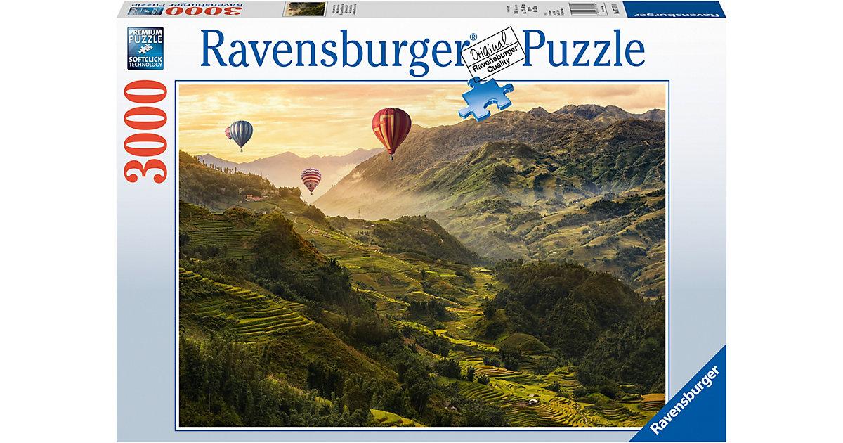 Ravensburger · Puzzle 3000 Teile Reisterrassen in Asien