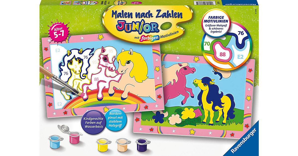 Malen nach Zahlen Junior Süße Ponys