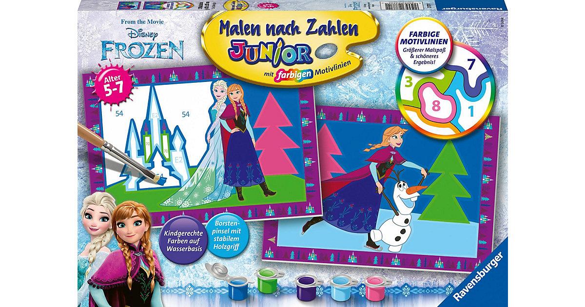 Malen nach Zahlen Junior Die Eiskönigin