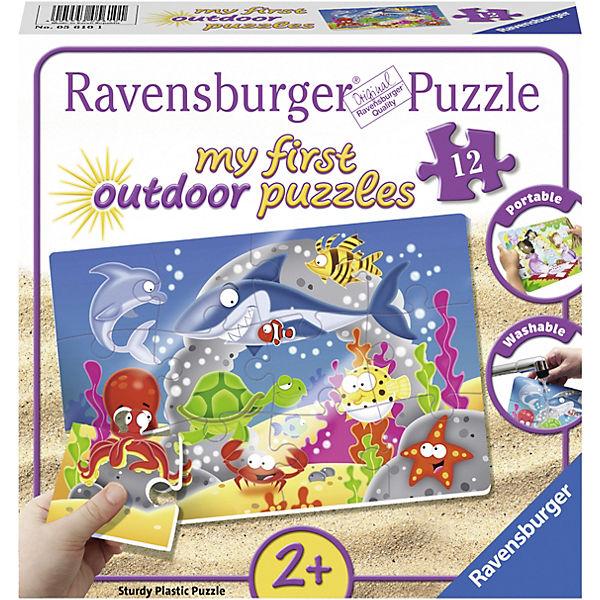 My first puzzles - outdoor 12 Teile Abenteuer unter Wasser, Ravensburger
