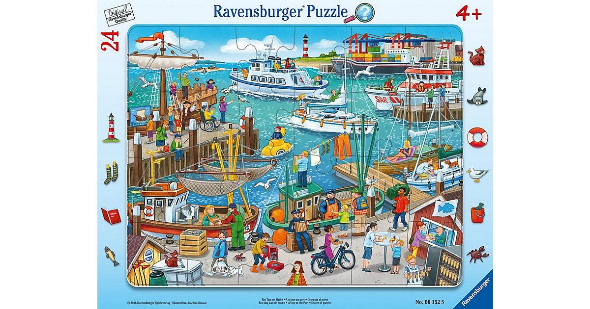 Rahmenpuzzles 24 Teile Ein Tag am Hafen