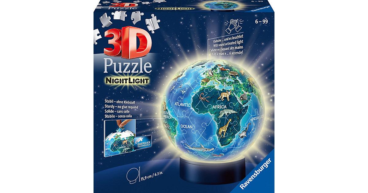 puzzleball® Nachtlicht Erde im Nachtdesign 72 T...
