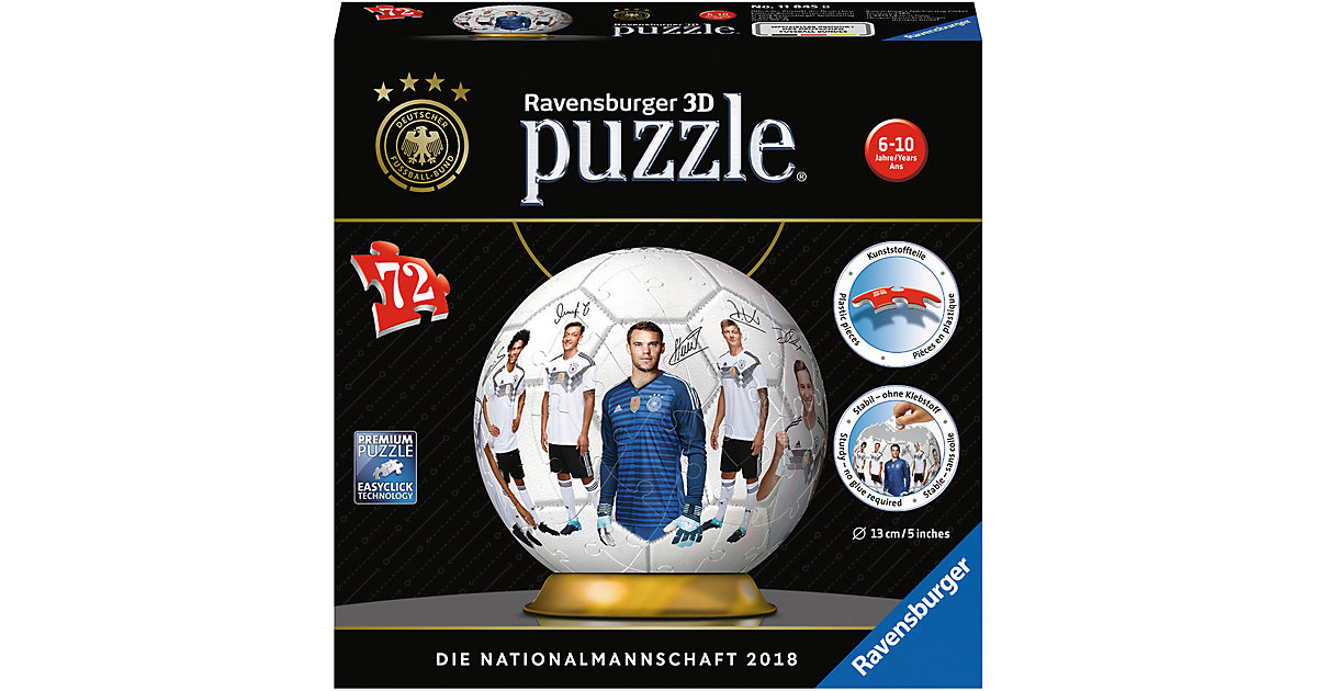 puzzleball® 72 Teile DFB Teamball