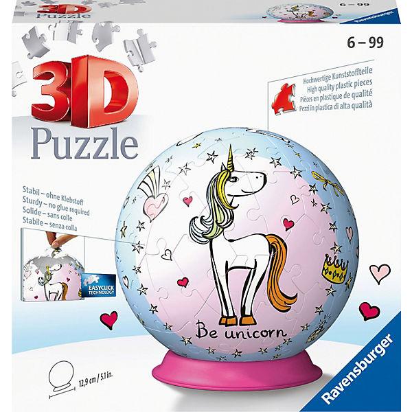 Puzzleball® Einhorn 72 Teile, Ravensburger