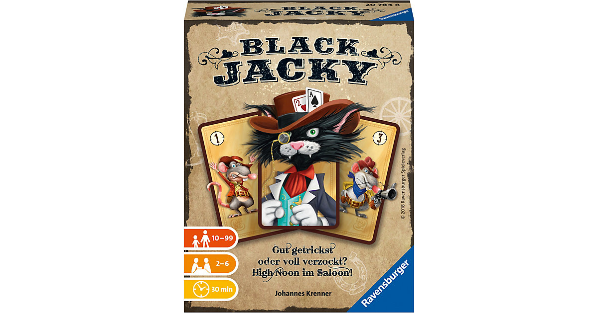 Kartenspiel Black Jacky