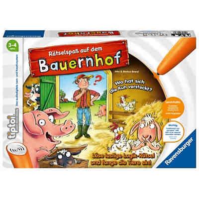 b6ab1f76b5 tiptoi® Rätselspaß auf dem Bauernhof (ohne Stift) ...