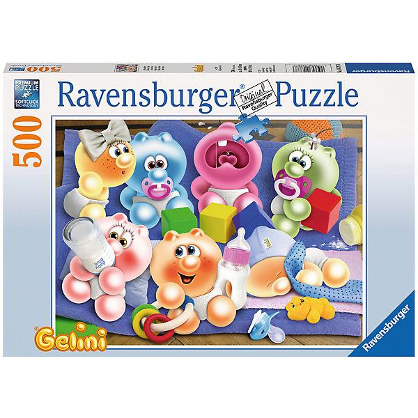 Puzzle 500 Teile, 49x36 cm, Gelini Baby, Ravensburger