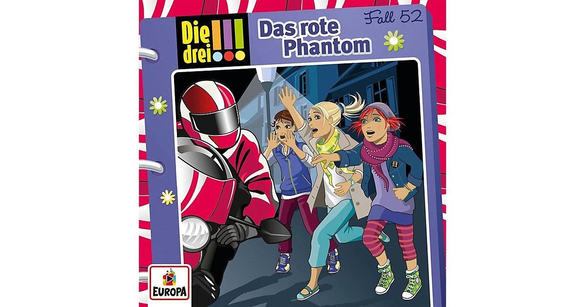 CD Die drei !!! 52 - Das rote Phantom Hörbuch