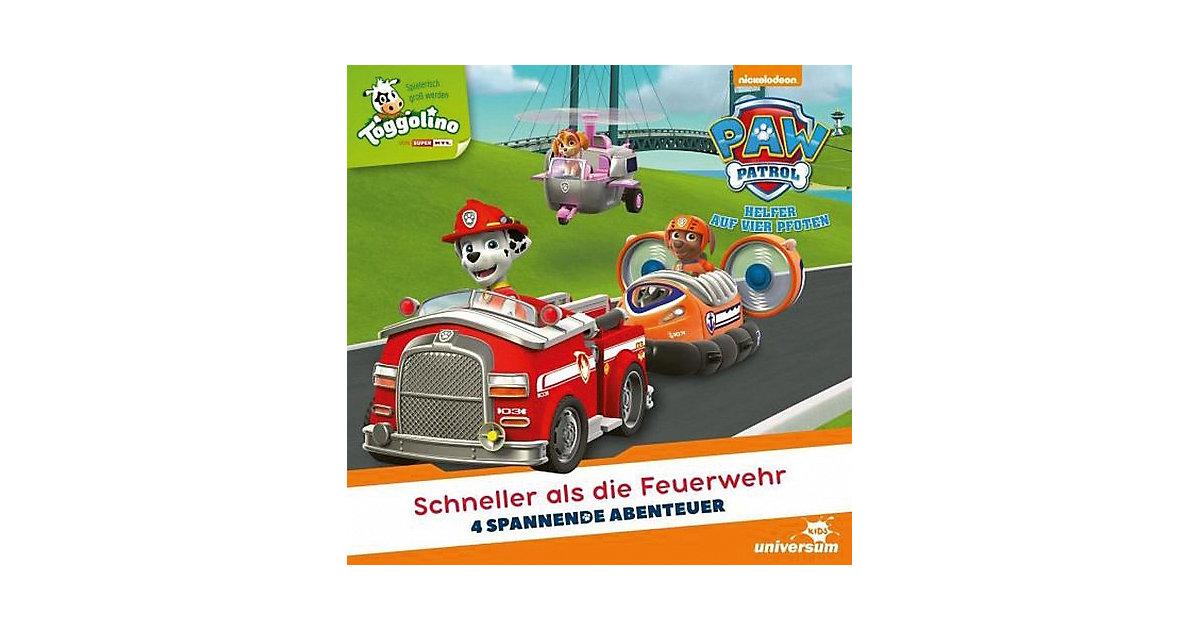 CD Paw Patrol 4 - Schneller als die Feuerwehr