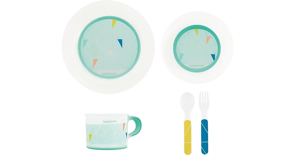 babymoov · Geschirr Set mit Antirutsch-System, azur