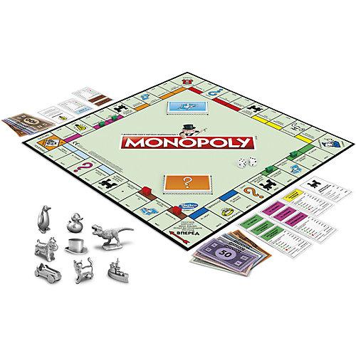 """Настольная игра Hasbro Games """"Классическая монополия"""" (обновленная версия) от Hasbro"""