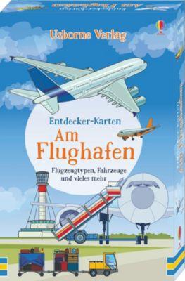 Buch - Entdecker-Karten: Am Flughafen