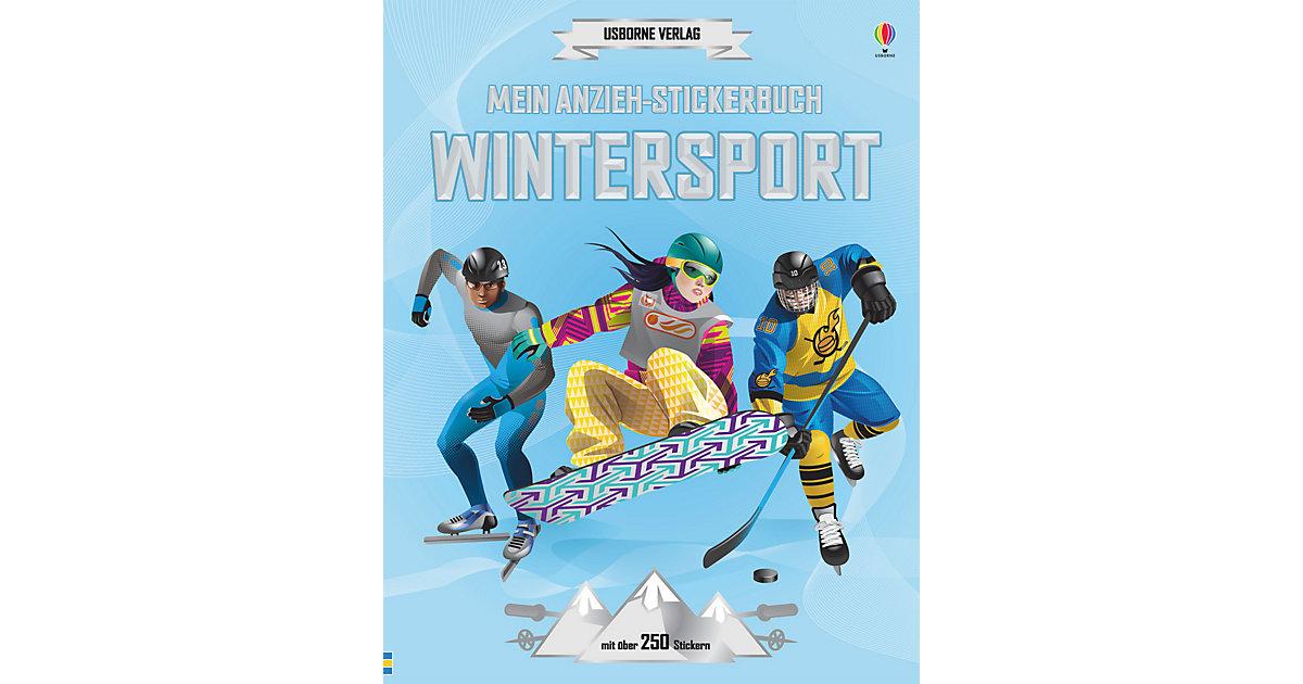 Mein Anzieh-Stickerbuch: Wintersport