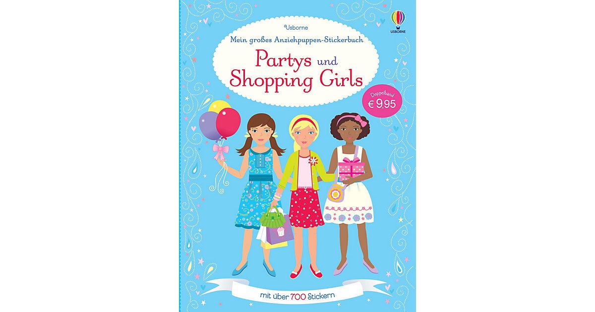 Mein großes Anziehpuppen-Stickerbuch: Partys un...