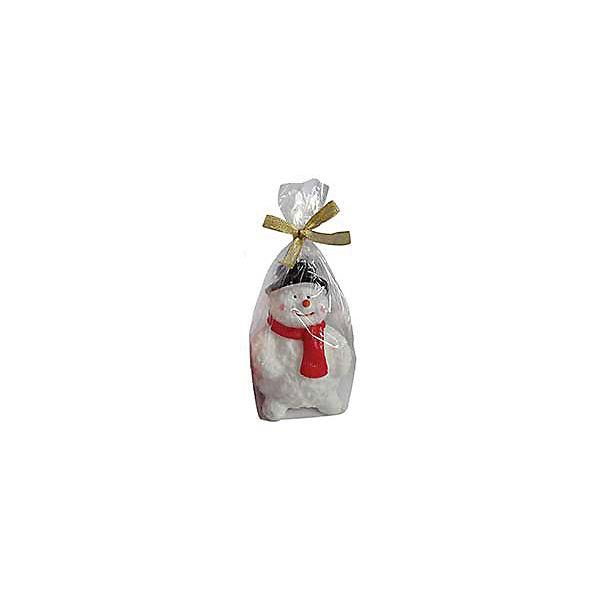 """Новогодняя свеча Magic Land """"Веселый снеговичок в шарфике"""""""