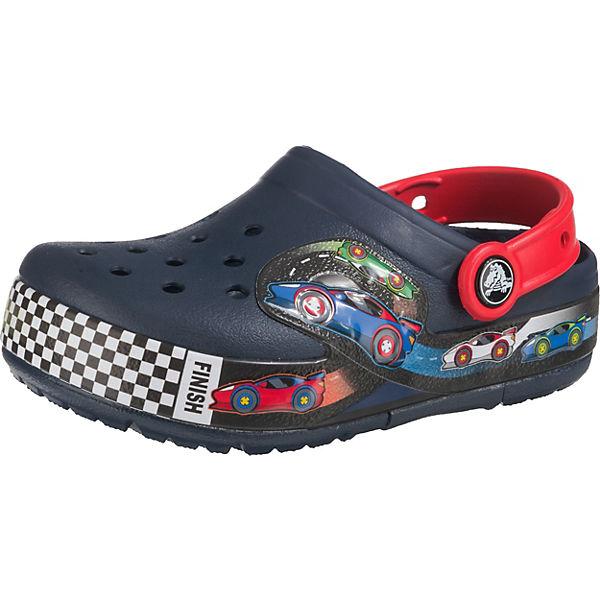 innovative design de51f 9b37c Clogs Blinkies für Jungen, Rennauto, crocs