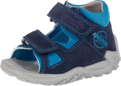 Superfit superfit Baby Sandalen FLOW für Jungen, Weite M4, blau, dunkelblau