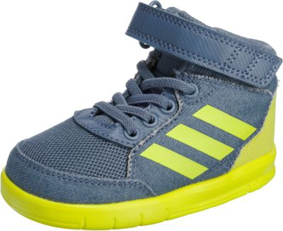 Baby Sneakers High AltaSport Mid EL I für Jungen, adidas Performance