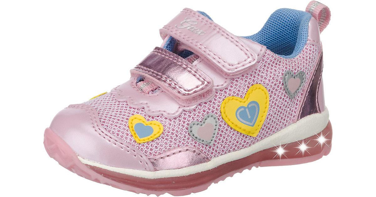 GEOX · Baby Halbschuhe Blinkies TODO , Herzen Gr. 23 Mädchen Kleinkinder