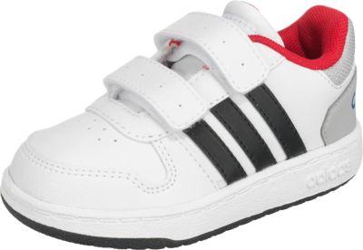 Baby Sneakers HOOPS 2.0 CMF I für Jungen, adidas Sport
