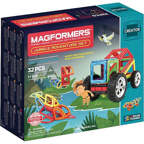"""Магнитный конструктор Magformers """"Adventure Jungle 32 set"""" от MAGFORMERS"""