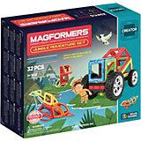 """Магнитный конструктор Magformers """"Adventure Jungle 32 set"""""""