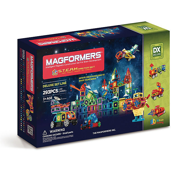 "Магнитный конструктор Magformers ""S.T.E.A.M. Master"""