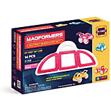 "Магнитный конструктор Magformers ""My First Buggy, розовый"""