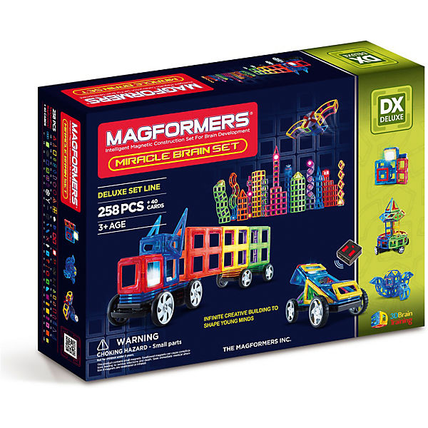 "Магнитный конструктор Magformers ""Miracle Brain set"""