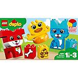 Конструктор LEGO DUPLO 10858: Мои первые домашние животные