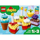 Конструктор LEGO DUPLO 10862: Мой первый праздник