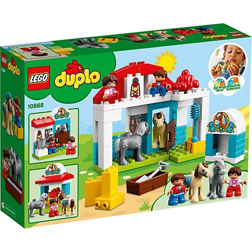 Конструктор LEGO DUPLO 10868: Конюшня на ферме от LEGO