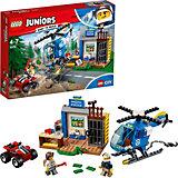 Конструктор LEGO Juniors 10751: Погоня горной полиции