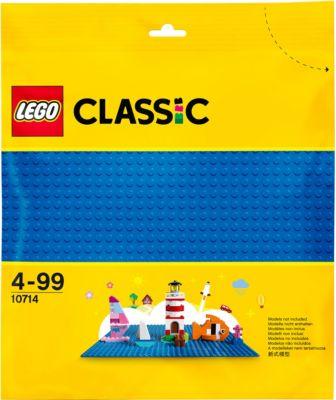 Classic LEGO 10714 Blaue Bauplatte