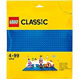 Конструктор LEGO Classic 10714: Синяя базовая пластина