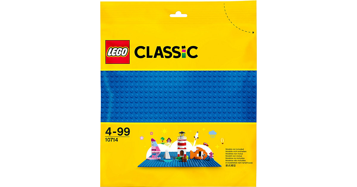 LEGO® Classic 10714 Blaue Grundplatte