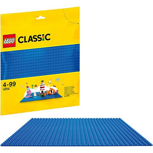Конструктор LEGO Classic 10714: Синяя базовая пластина от LEGO