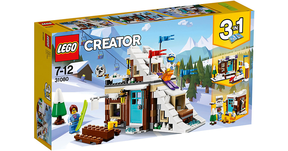 LEGO 31080 Creator: Modulares Wintersportparadies