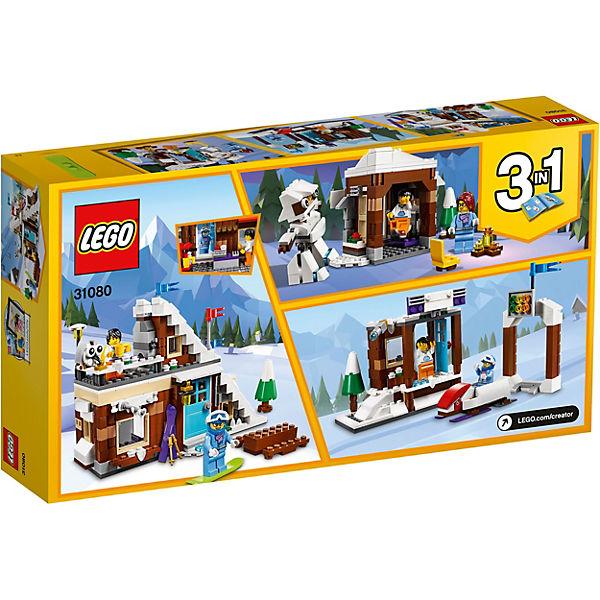 Конструктор LEGO Creator 31080: Зимние каникулы