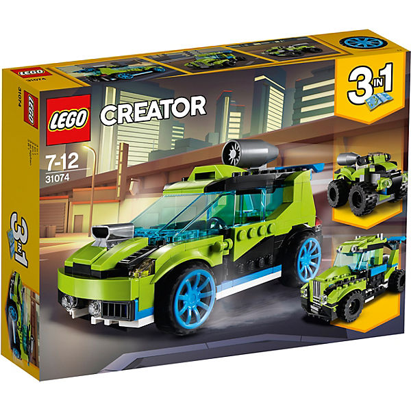Lego 31074 Creator Raketen Rallyeflitzer Lego Creator