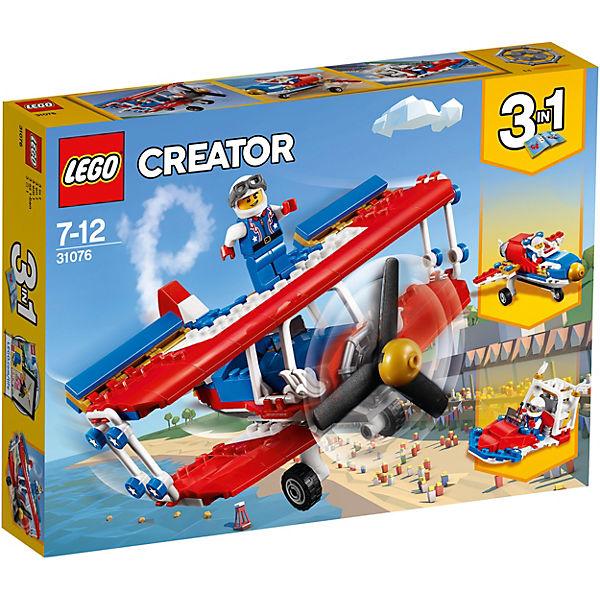 Конструктор LEGO Creator 31076: Самолёт для крутых трюков