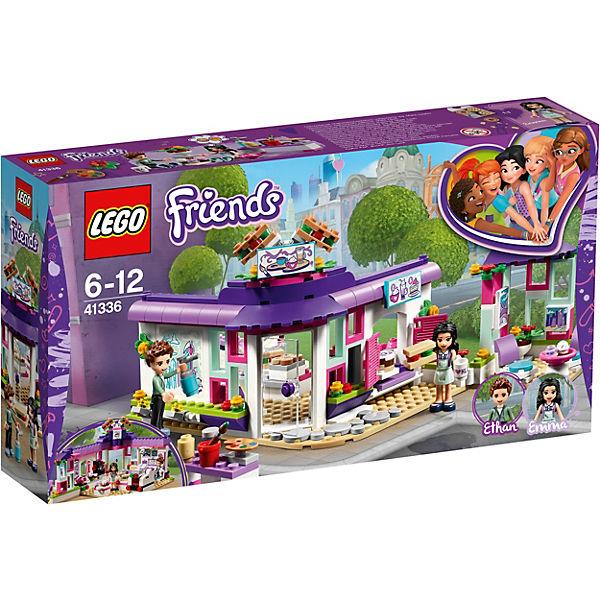 Конструктор LEGO Friends 41336: Арт-кафе Эммы
