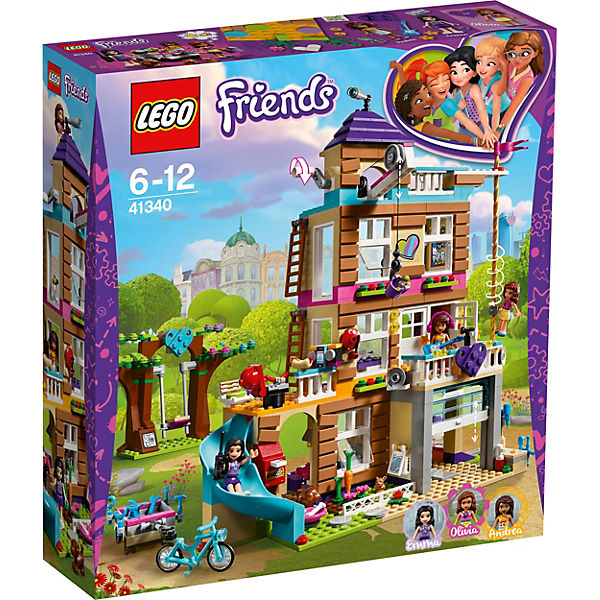 lego 41340 friends freundschaftshaus lego friends mytoys. Black Bedroom Furniture Sets. Home Design Ideas