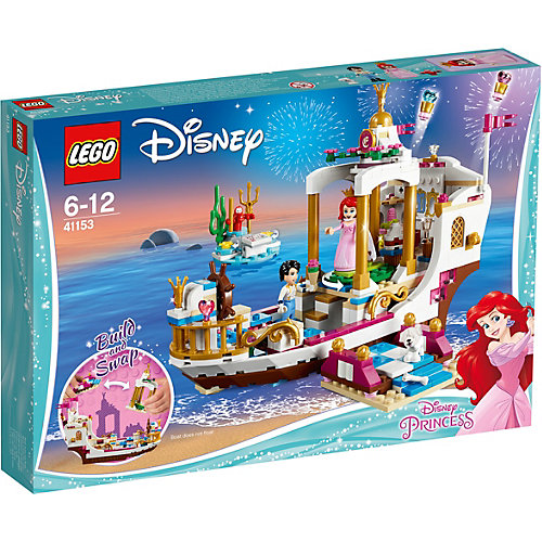 Конструктор LEGO Disney Princess 41153: Королевский Корабль Ариэль от LEGO