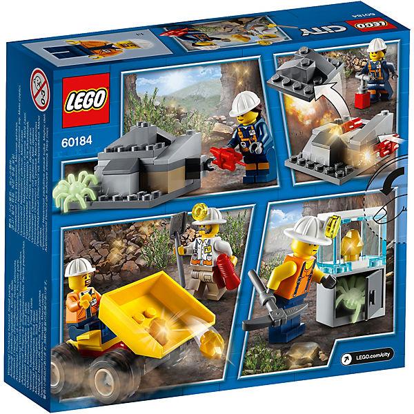 Конструктор LEGO City 60184: Бригада шахтеров