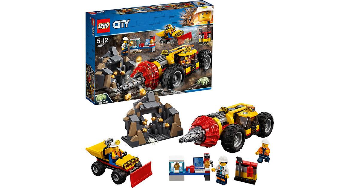 LEGO 60186 City: Schweres Bohrgerät den Bergbau Kinder